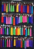 Handgjorda Lao Craft Necklaces From Luang Prabang royaltyfria foton