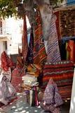 Handgjorda mattor och filtar Royaltyfria Bilder