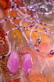 handgjorda smycken Arkivfoton