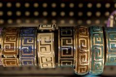 handgjort armband Arkivfoton