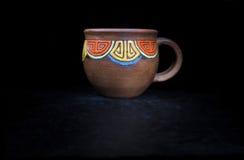 handgjort gammalt för kopp Arkivfoton
