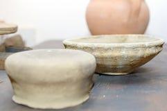 handgjort gammalt för keramik Arkivfoton