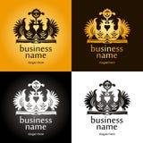 Logoen med reser upp Fotografering för Bildbyråer