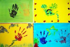 Handgrafik lizenzfreie stockfotos