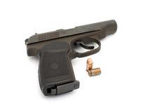 Handgun. Royalty Free Stock Image