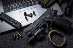 handgun foto de stock