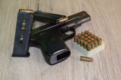 handgun Foto de Stock Royalty Free