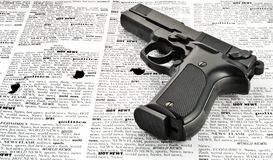 Handgun Royalty Free Stock Images