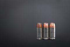 Handgun Ammunition Stock Photo