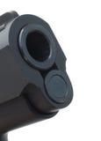 Handgun barrel Stock Image