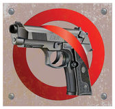 Handgun Beretta Elite Stop Stock Photo