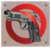 Handgun Beretta Elite Stop Stock Photo