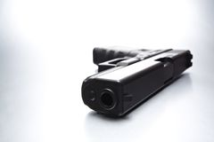 Handgun closeup Royalty Free Stock Photography