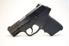 Handgun with grip Stock Image