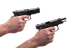 Handgun  isolate Stock Photo