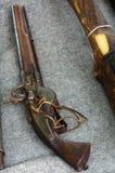 Handgun old replica. Objects history Stock Image