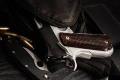 Handgun pistol Royalty Free Stock Photos