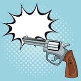 Handgun pop art. Icon vector illustration graphic design vector illustration