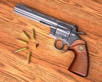 Handgun rendering Stock Photography