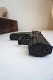 Handgun's barrel Royalty Free Stock Images