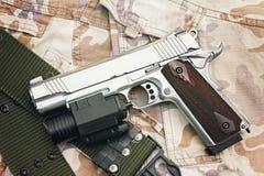 Handgun, semi-automatic Stock Photography