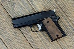 Handgun, semi - automatic women gun. Stock Photography
