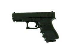 Handgun from side Stock Photography