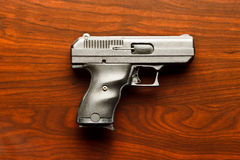 Handgun Table Royalty Free Stock Images