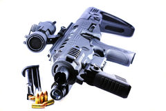Handgun upgrade Royalty Free Stock Images