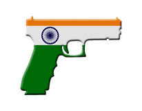 Handgun weapon laws in India Royalty Free Stock Photos