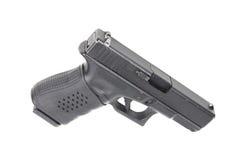 Handgun on white background Royalty Free Stock Photography