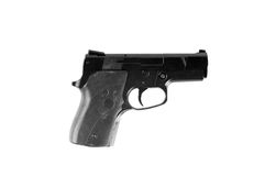 Handgun on white background. Stock Photography