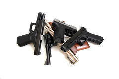 Handguns Royalty Free Stock Photos