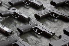 Handguns Stock Photo