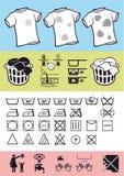 Handhaben und Sorgfalt von Kleidung Lizenzfreie Stockfotografie