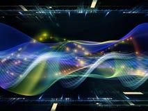 Handhaben von Technologie Lizenzfreie Stockfotografie