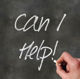 Handhandstil 'kan mig hjälper', arkivfoton