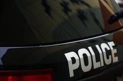 Handhaving van de politie de Zwart-witte Wet stock fotografie