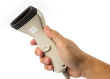 Handheld Barcode Scanner Stock Photography