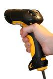handheld bildläsare för barcode Royaltyfri Fotografi
