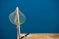 Isolated fishing net Stock Photo
