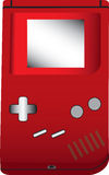 Handheld game illustration Royalty Free Stock Image