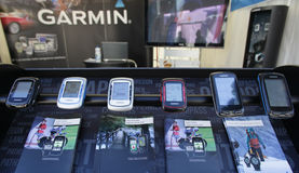 Handheld GPS Stock Images