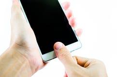 Handheld Handphone Royalty Free Stock Image
