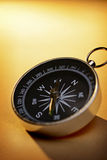 Handheld magnetic compass Stock Image