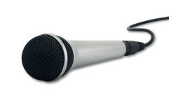 Handheld Microphone Stock Images