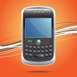 handheld smartphoneradio Arkivfoto