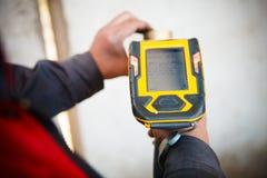 Handheld XRF analyzer spectrometer for scrap metal Stock Photography