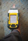 Handheld XRF analyzer spectrometer for scrap metal Royalty Free Stock Image