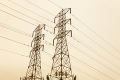 Handhold for electric wire Royalty Free Stock Photos